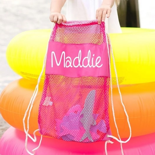 Personalized Kids Beach Backpacks Only $13.99