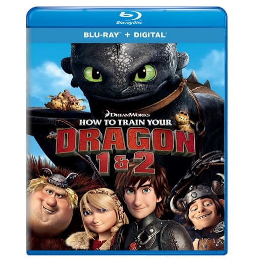 How to Train Your Dragon 1 & 2 Blu-ray Only $14.99