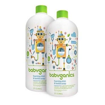 Babyganics Foaming Dish & Bottle Soap Refill 2-Pack $7.94 Shipped **Only $3.97 Each**