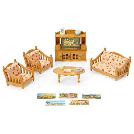 Calico Critters Comfy Living Room Set Only $10.59