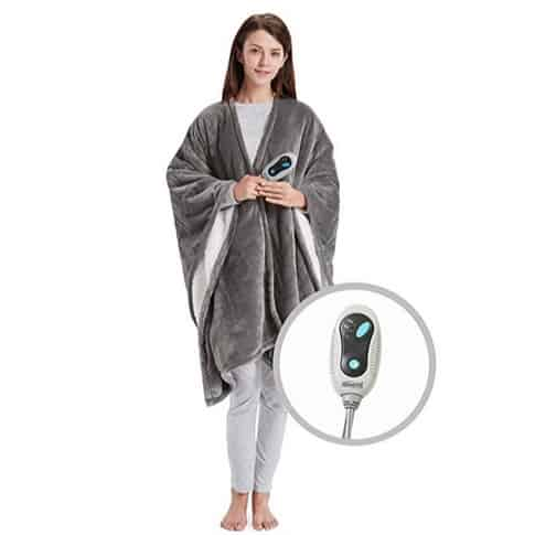 Beautyrest Soft Sherpa Heated Blanket Wrap Only $36.99 **Today Only**