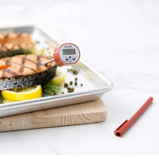 Taylor Commercial Waterproof Digital Cooking Thermometer Only $7.99