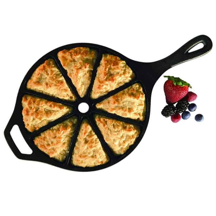 Lodge Cast Iron Cornbread Wedge Pan Only $14.85