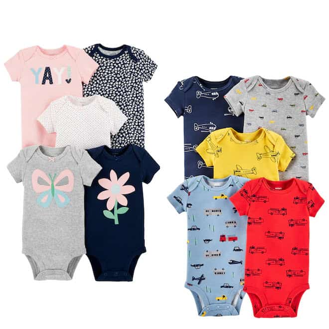 Kohl's: Baby Carter's 5-pk. Bodysuits $7.83 **Only $1.57 Each**