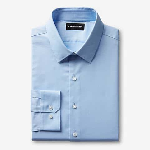 Express: Men's Easy Care Oxford Shirts $13.65 Each (Was $70)