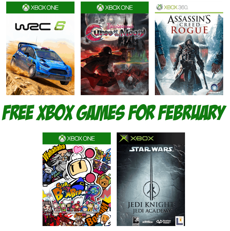 FREE Xbox Games Available for February 2019