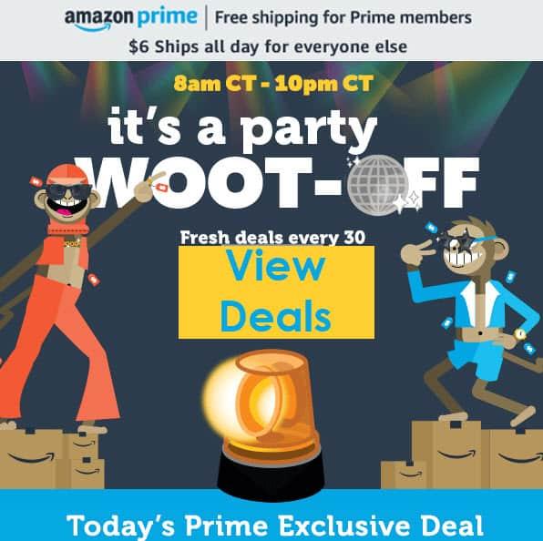 Prime Week Woot! Off - Exclusive Deals for Prime Members ALL Week!