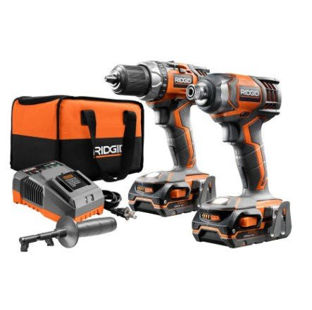 Home Depot: 18-Volt Lithium-Ion Cordless Drill/Driver and Impact Driver 2-Tool Combo Kit $119 (Was $179)