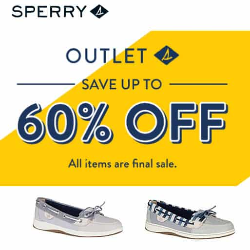 Sperry.com Stacking Codes + Free Shipping on ANY Order = $80 Shoes Only $19 Shipped