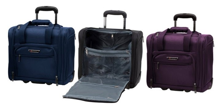 """Travelers Polo and Racquet Club 15"""" Underseat Carry-On $34.99 Shipped (Was $200)"""