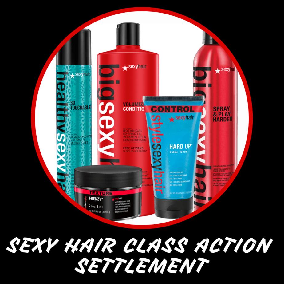Sexy Hair Class Action Settlement