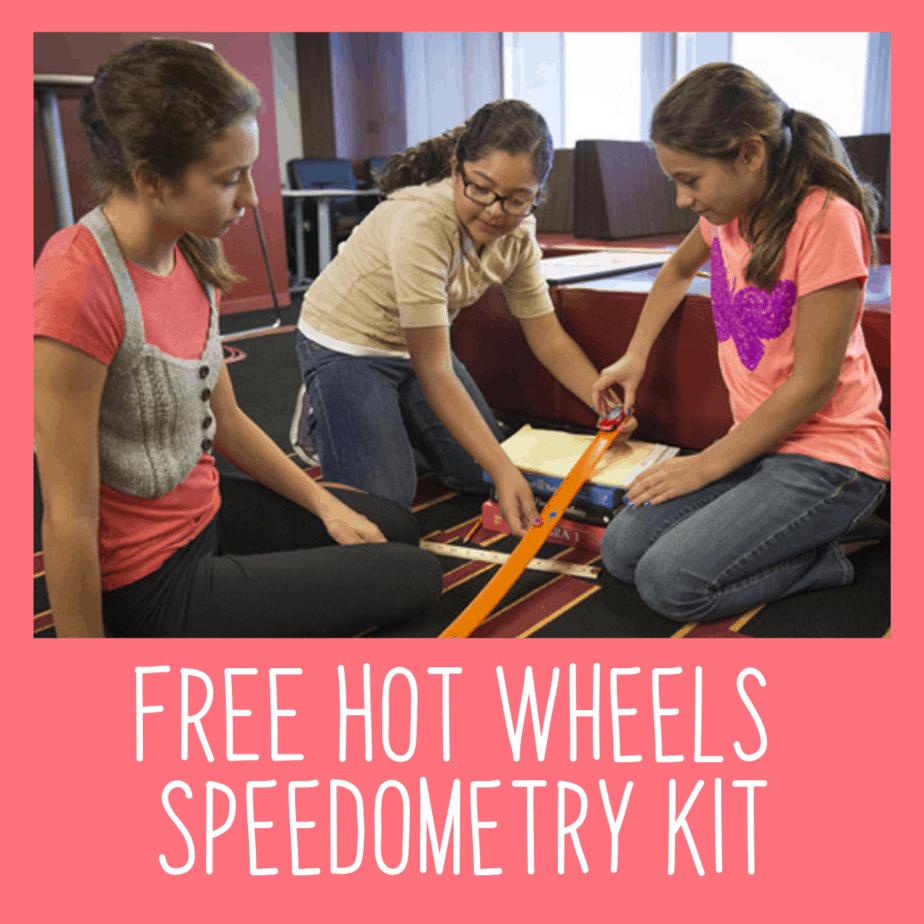 FREE Hot Wheels Speedometry Kit