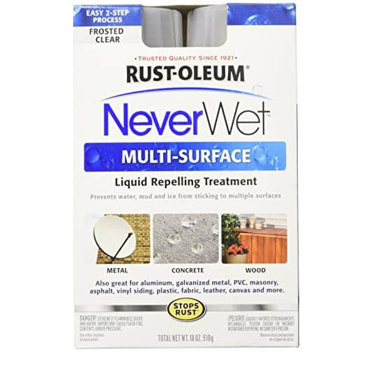 Rust-Oleum 274232 18 oz Frosted Clear $6.85