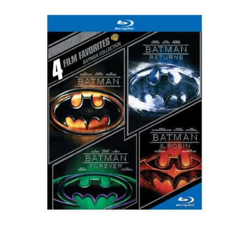 4 Film Favorites: Batman Collection on Blu-ray Only $10.00