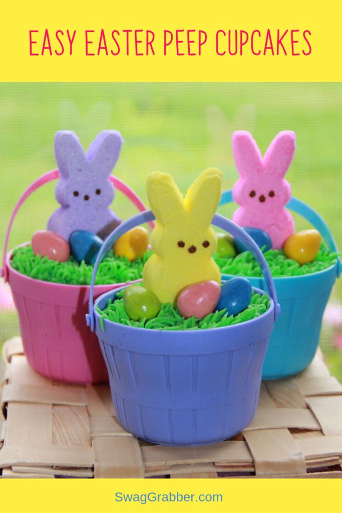 Adorable Easter Cupcakes