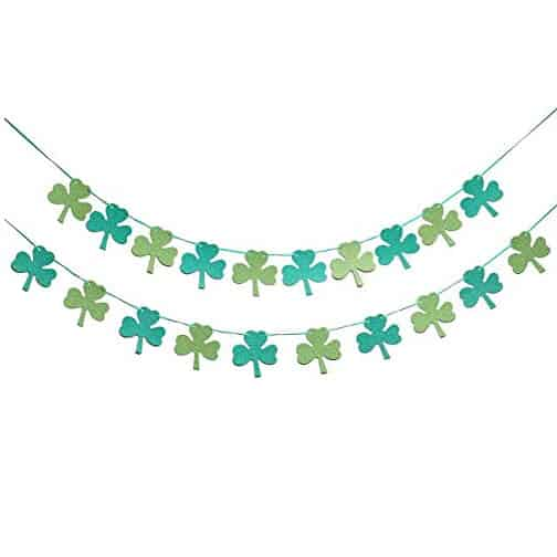 St. Patrick 's Day Garland Decorations Banner Only $5.99