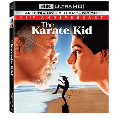 The Karate Kid Blu-ray Anniversary Edition $22.99