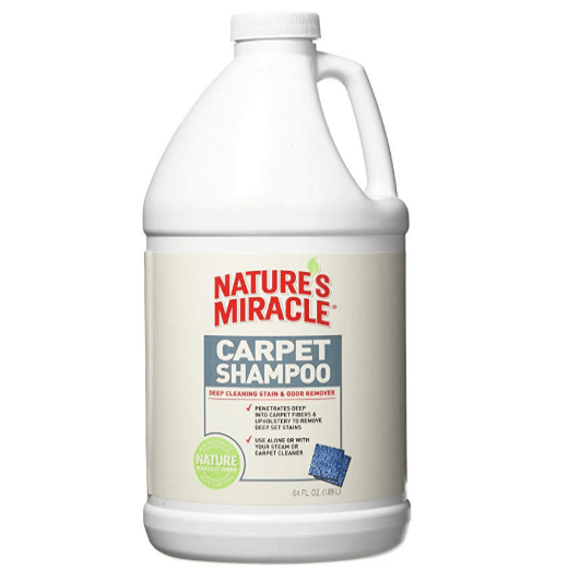 Nature's Miracle Deep Cleaning Carpet Shampoo 64oz Only $4.92 (Was $14.99)
