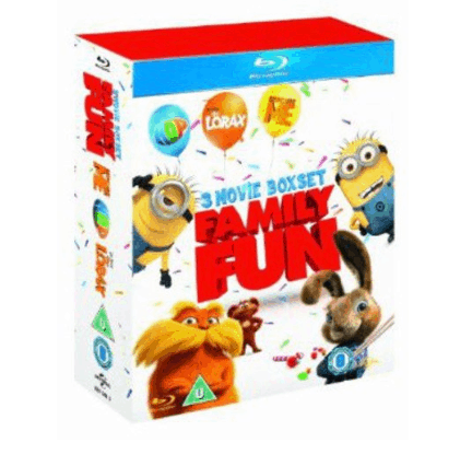 Hop / Despicable Me / Dr. Seuss / The Lorax Blu-ray Collection $14.79