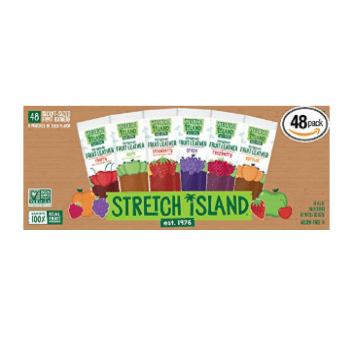 Stretch Island Fruit Leather Snacks Variety Pack, Pack of 48 Only $10.17