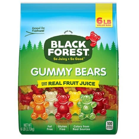 Black Forest Gummy Bears Candy 6 lb Only $9.28