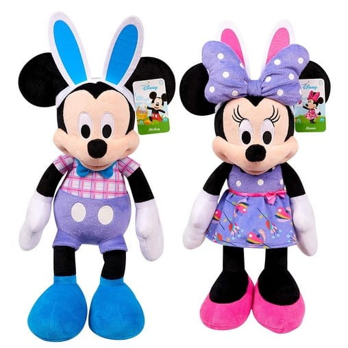 Easter Mickey or Minnie Plush