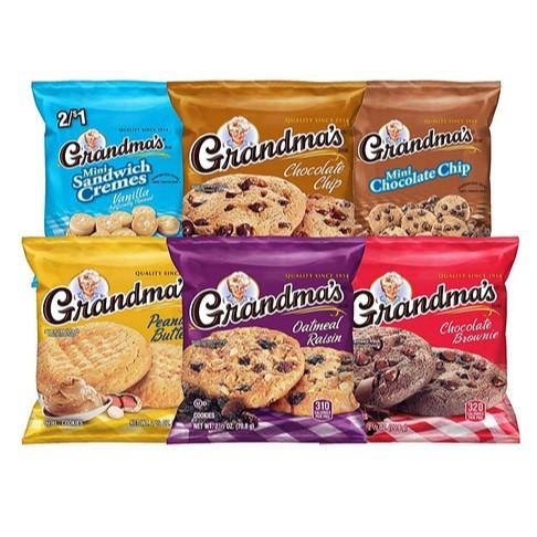 Grandma's Cookies Variety Pack of 30 Now .38