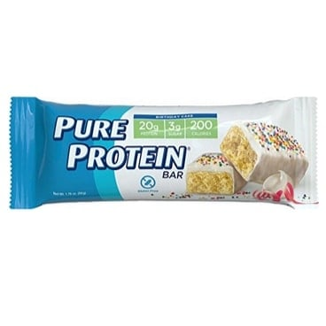 Pure Protein Bars Gluten Free Birthday Cake 6-Count Only $5.20
