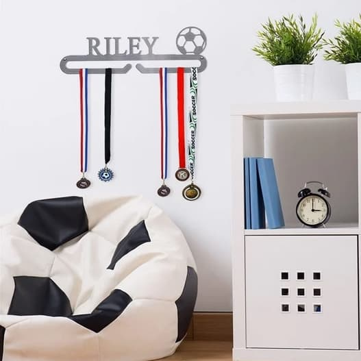 Personalized Medal, Tie, Leash Holders $24.99