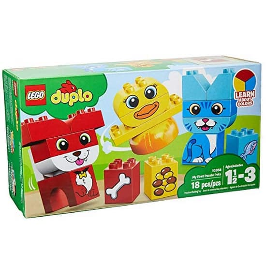 Lego Duplo My First Puzzle Pets Building Blocks Only $5.99