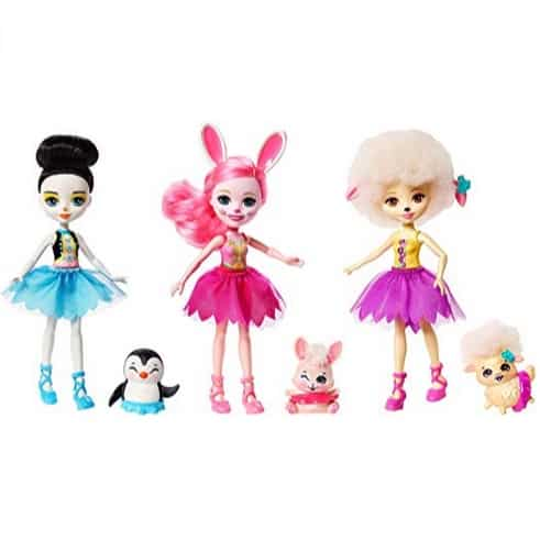 Enchantimals Ballet Cuties Doll 3-Pack Only $13.16