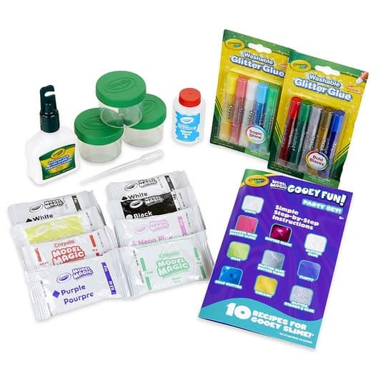 Crayola Model Magic Gooey Fun! Party Kit Slime Supplies Only $7.07