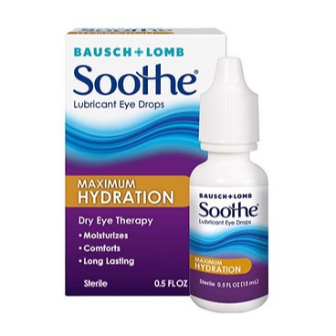 Bausch + Lomb Soothe Dry Eye Drops 0.50oz Only $5