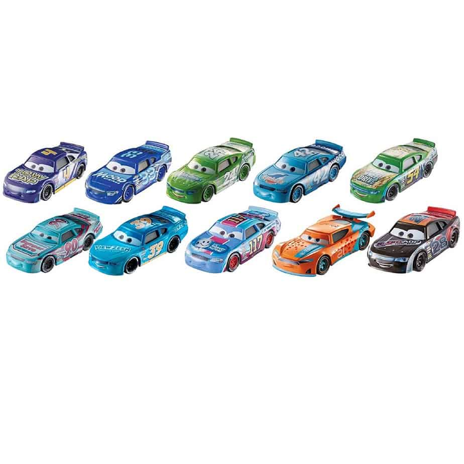 Disney/Pixar Cars Die-cast Old Generation Vehicles 10-Pack Only $23.93