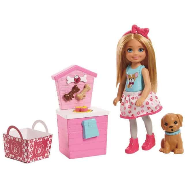 Barbie Sisters Chelsea Doll and Puppy Food Stand Only $13.99 (Was $26.95)