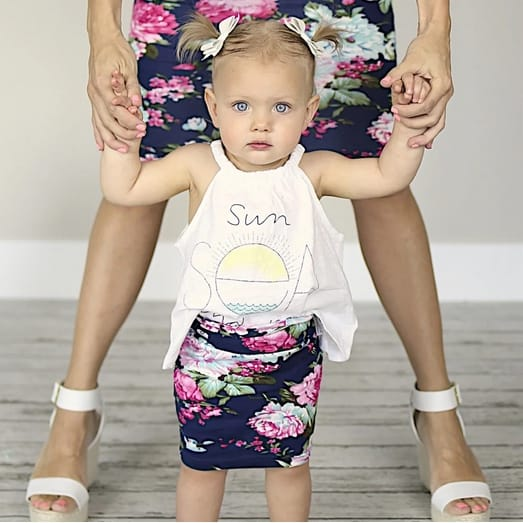 Spring Adult & Child Skirts Only $11.99