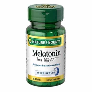 Nature's Bounty Melatonin 180 Tablets Only $2.86