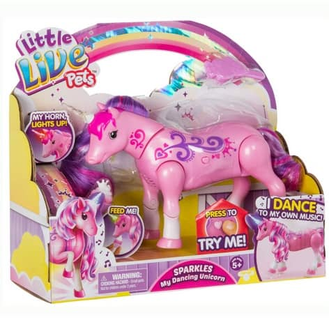 Little Live Pets Sparkles My Dancing Unicorn Only $14.49