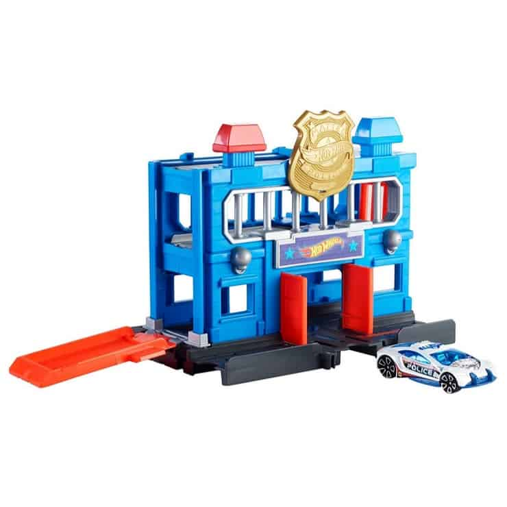 Hot Wheels Police Station Breakout Playset Only $6.97 (Was $32.99)