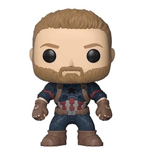 Funko POP! Marvel: Avengers Infinity War Captain America Only $5.99 (Was $10.99)