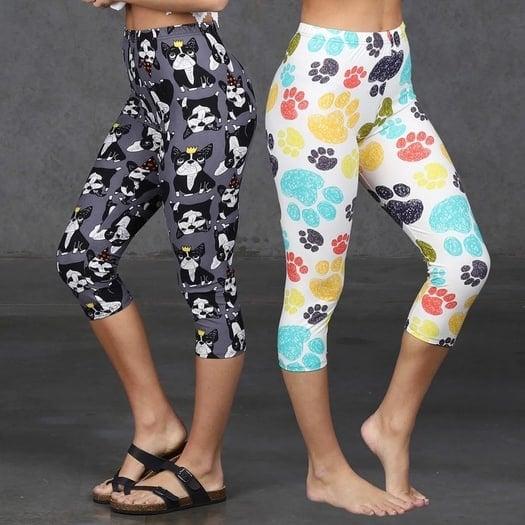 Super Cute So Soft Capri Leggings Only $7.99