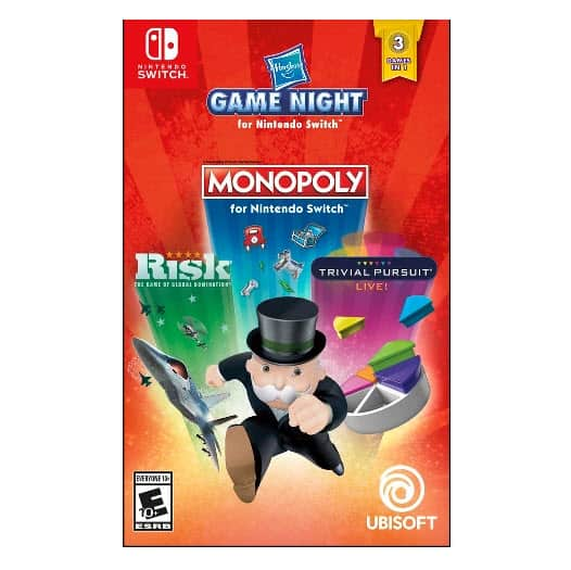 Target: Hasbro Game Night - Nintendo Switch Game ONLY $27.99 (Was $60)