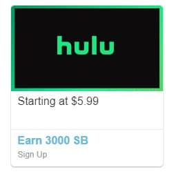 Hulu $5.99 a Month + a FREE $33 Amazon Gift Card or CASH ?SUPER HOT?