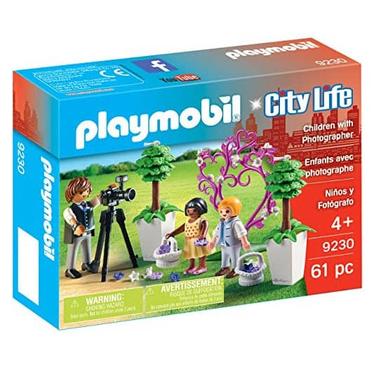 50% Off PlayMobil - Children with Photographer Building Figure Only $4.53 and More!