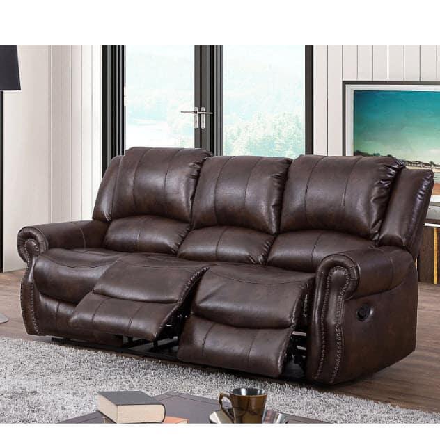 Sam's Club: Abbyson Living Turner Triple Reclining Fabric Sofa ONLY $499 Shipped (Was $1219)