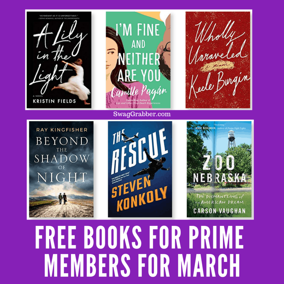 FREE Books for Prime Members with Kindle First for March 2019