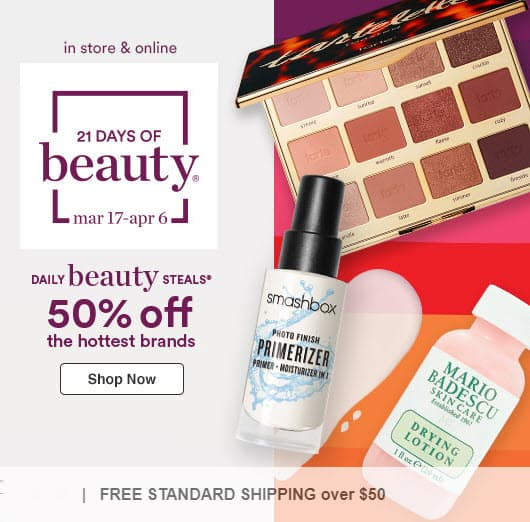 Ulta 21 Days of Beauty Steals: 50% off Clinique, Buxom, Philosophy and MORE!
