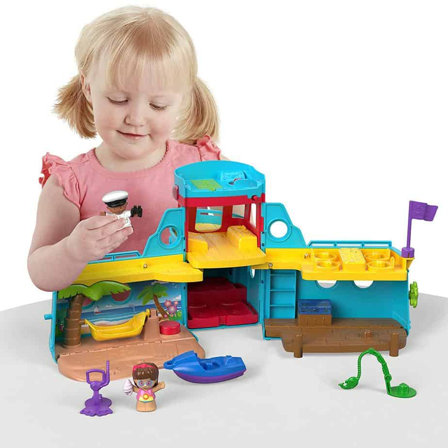 Fisher-Price Little People Travel Together Friend Ship Only $15.39 (Was $29.99)