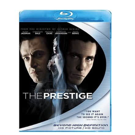 The Prestige on Blu-ray $5.99