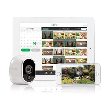 Arlo - Wireless Home Security Camera System with Motion Detection | 4 camera kit Only $249.99 (Was $450)